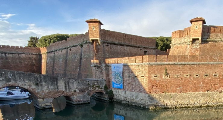 Fortezza Nuova Livorno sopralluogo Sindaco