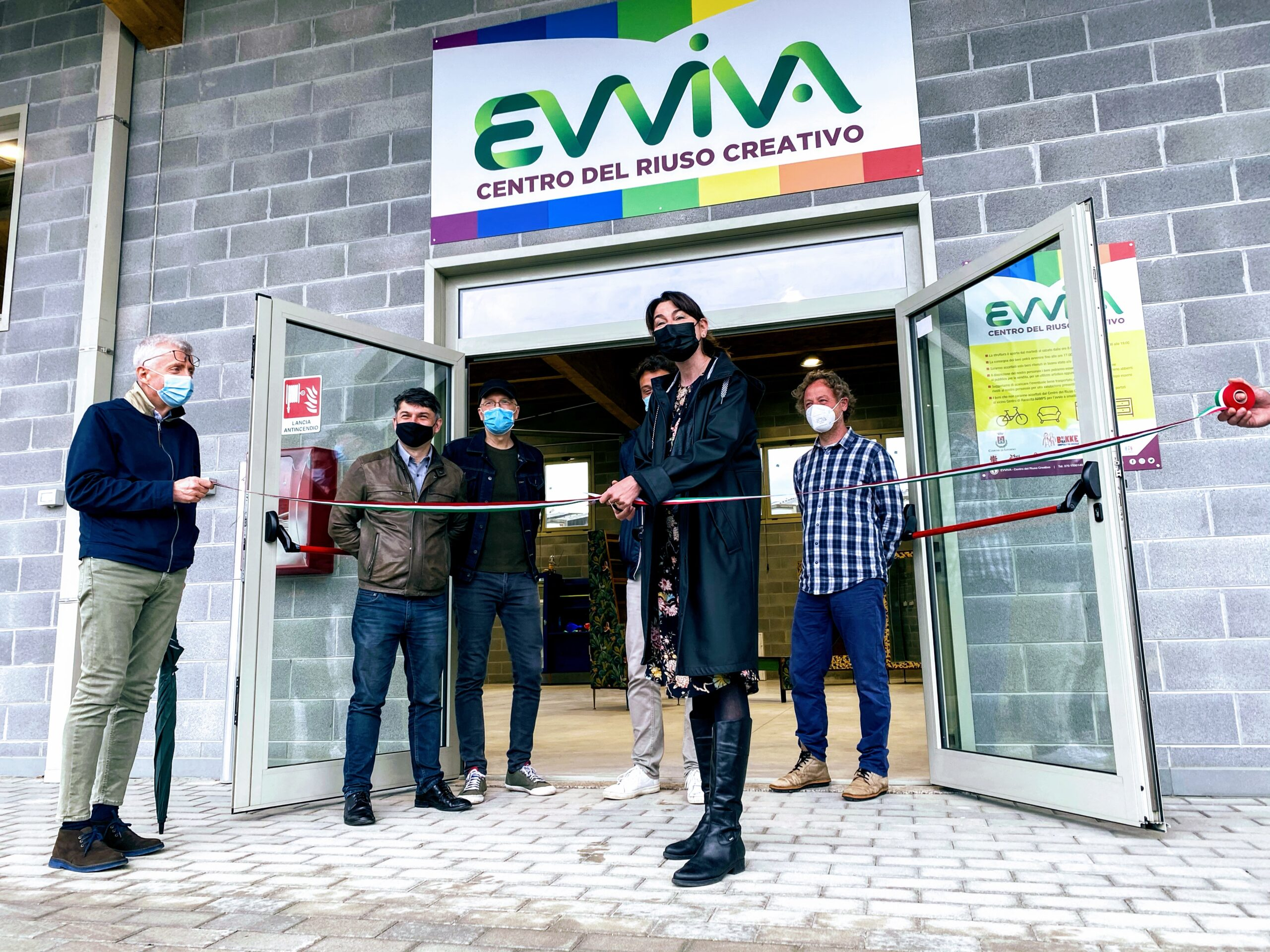 Centro Riuso Creativo_EVVIVA_ inaugurazione